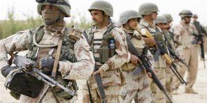 Irakische Armee auf dem Vormarsch, SANA