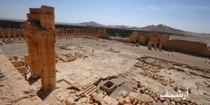 Baʽl-Tempel-Bezirk, Palmyra, SANA, Archivaufnahme