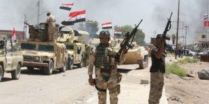 Vorrückende irakische Armee, Photo: SANA