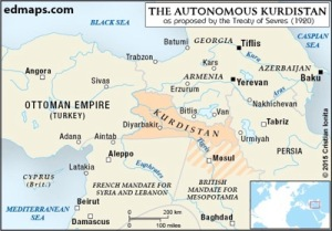 Geplantes Kurdistan, Abb. voltairenet.org