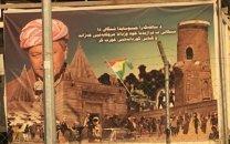 Barzânîs Kurdistan-Wahlplakat, abb. voltairenet.org