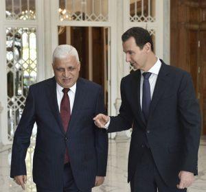 Treffen in Damaskus, ÜPhoto: SANA