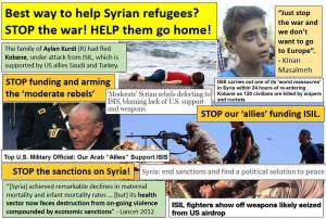 stop supporting terrorists, syrianfreepress