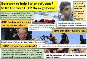 stop supporting terrorists, syrianfreepress
