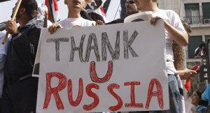 Syrische Christen danken Rußland, sputniknews