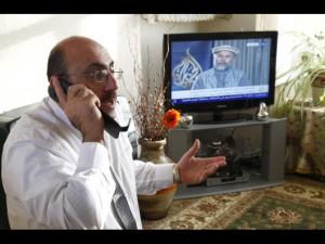 """SOHR, der Mann hinter den """"Nachrichten"""", Bildquelle: syrianfreepress"""