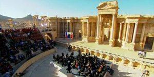 Konzert im Theater in Palmyra, Bildquelle SANA