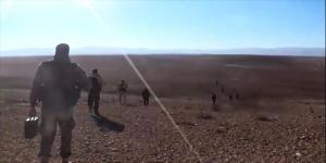 Weite der Großen Syrischen (Geröll-)Wüste, Photo: SANA