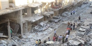 Aleppo-Anschlag (Photo: SANA)