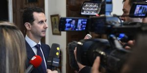Präsident Dr. al-Assad am 9.1.2017, Photo: SANA