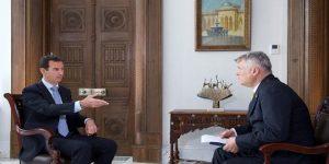 Politika-Interview, Photo: SANA