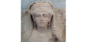 Vom IS geraubtes palmyrenisches Grabrelief, Photo: SANA