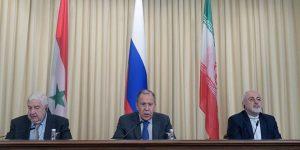 Trilaterales Treffen in Moskau, Photo: SANA