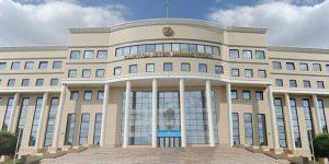 Astana, Außenamt, Photo: SANA