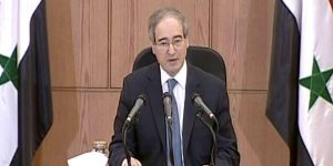 Dr. al-Miqdâd, Vize-Außenminister, Photo: SANA