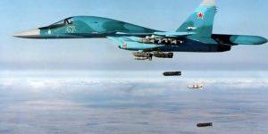 Russische Kampfflieger im einsatz gegen den IS, Photo: SANA