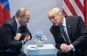 Putin & Trump beim G-20-Treffen, Photo: Sputnik News