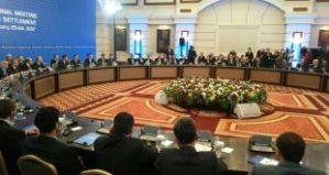 Astana-Konferenz, Photo: SANA