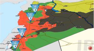 4 De-Eskalationszonen in Syrien, Photo: syrianfreepress-