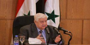 Vizepremier und Außenminister al-Muʽallim, Photo: SANA