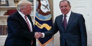 Treffen Lawrow - Trump vom 10.5.2017, Photo: SANA