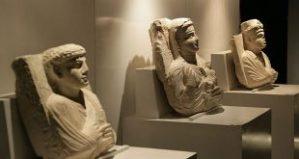 Sonderausstellung im damaszener Nationalmuseum, Photo: SANA