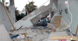 Materielle Schäden nach Mörsergranatenattacke in ar-Rastan, Photo: SANA