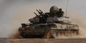 SAA im Kampfeinsatz, Photo: SANA