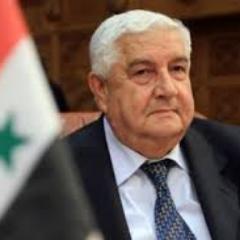 Vize-Premier- und Außenminister Walîd al-Mu'allim, Photo: twitter.com