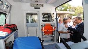 Hilfslieferungen nach Dair az-Zaur, Photos SANA