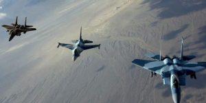 US-geführte Koalition - Bombardements auf ar-Raqqa, Photo: SANA