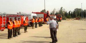 Stärkung des Zivilschutzes in Dair az-Zaur, Photo: SANA