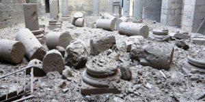 Zerstörte archäologische Stätten in der Provinz Dar'â, Photo: SANA