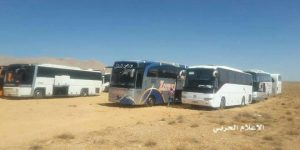 IS-Ausschaffung aus dem West-Qalamûn, Photo: SANA