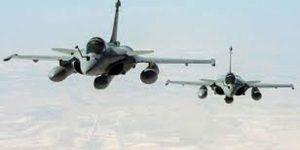 Bomber der US-geführten Koalition über Syrien, Photo: SANA