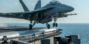 Kampfeinsatz der US-geführten Koalition, Photo: SANA