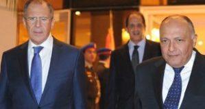 Außenminister Lawrow und ukrî, Photo: SANA