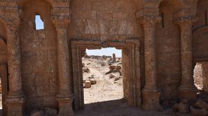 Eine der o.e. archäologischen Stätten, Photo: SANA