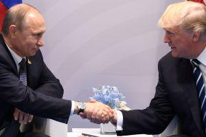 Putin, Trump beim G20-Gipfeltreffen,Photo: - russia.com