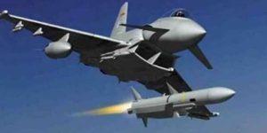 Luftangriffe der US-geführten Koalition, Photo: SANA