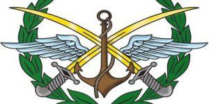 Emblem des Obersten Armeekommandos, Abbildung: SANAEmblem des Obersten Armeekommandos, Abbildung: SANA