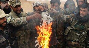 SAA und Bürger gegen den IS, Photo: Sputnik News