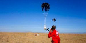 Versorgung von Dair az-Zaur aus der Luft, Photo: SANA