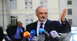 Pressekonferenz mit Dr. al-Gafari, Photo: SANA