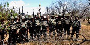 Siegreiche SAA-Einheit, Photo: SANA
