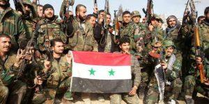 SAA-Einheit nach Gefechtssieg, Photo: SANA