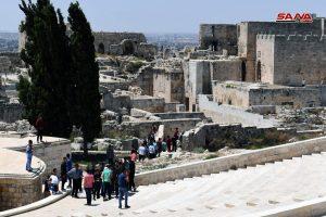 Zitadelle Aleppo wieder geöffnet, Photo: SANA