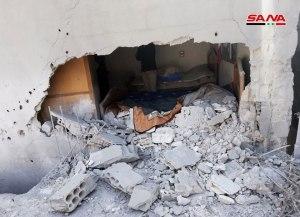 Terror, al-Lâḏaqiyya, 13.3.2019, material-damage-terrorist-attack-Lattakia2