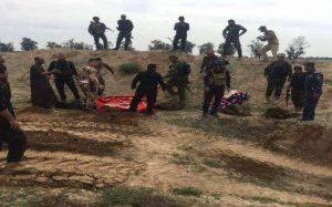 im Grenzgebiet gegen IS, al-Maʽlûma